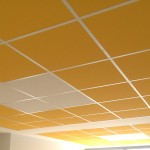 Faux plafond démontable couleur.Marseille