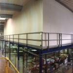 Cloison Placo milieu industriel.Rousset